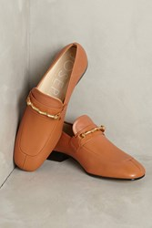 Anthropologie Joseph Leather Loafers Blue Motif