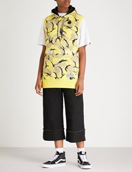 Aape By A Bathing Ape Camouflage Print Cotton Blend Sweatshirt Yellow