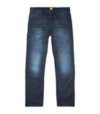 Boss Orange Orange58 Comfort Straight Leg Jeans Male Blue