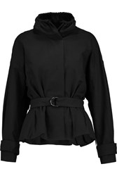 Isabel Marant Oury Cotton And Linen Blend Jacket Black