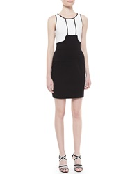 Yoana Baraschi Memphis Textured Body Conscious Dress