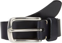Felisi Men's Burnished Edge Dress Belt Blue