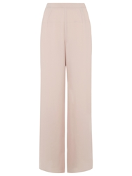 Jacques Vert Chiffon Split Leg Trousers Mid Neutral