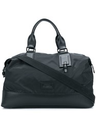 Versace Collection Large Logo Holdall Black