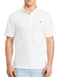Polo Big And Tall Hampton Cotton Tee White