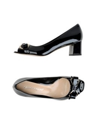 Carlo Pazolini Pumps With Open Toe Dark Blue