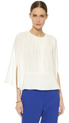 Maiyet Split Sleeve Top Off White
