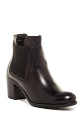 Manas Design Casual Leather Boot Black