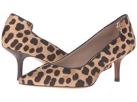 Tory Burch Elizabeth 65Mm Pump Leopard Coconut High Heels Animal Print