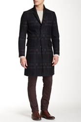 Tiger Of Sweden Dempsey 9 Wool Blend Coat Gray