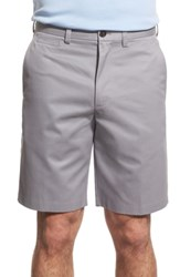 Nordstrom Big And Tall Shop Smartcare Tm Flat Front Shorts Grey Filigree