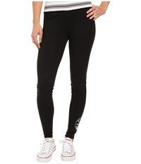 Converse Core Plus Leggings Black Women's Casual Pants