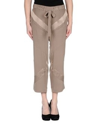 Hamish Morrow 3 4 Length Shorts Light Brown