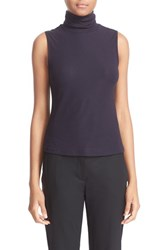 Theory Women's 'Wendel' Sleeveless Turtleneck Top Deep Navy