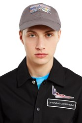 Opening Ceremony Syd Mead Embroidered Logo Cap Grey Multi
