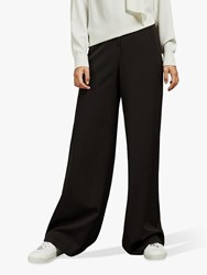 Ted Baker Adaart Wide Leg Tailored Trousers Black