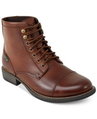 Eastland Shoe Eastland High Fidelity Lace Up Boots Men's Shoes Tan