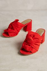 Anthropologie Lien. Do By Seychelles Palma Mules Red