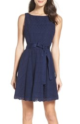 Bb Dakota Women's Ty Fit And Flare Dress