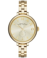 Marc By Marc Jacobs Women's Sally Gold Ion Plated Stainless Steel Bracelet Watch 36Mm Mbm3363