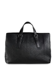 Bottega Veneta East West Leather Tote Brick Navy Grey Black Brown