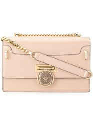 Balmain Medallion Crossbody Pink