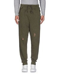 Happiness Casual Pants Military Green