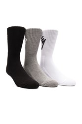 Stussy 3 Pack Su16 Slanted Socks Gray