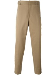 Gucci Stretch Gabardine Chinos Nude Neutrals