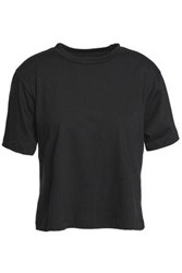 3X1 Cotton Jersey T Shirt Black