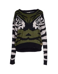 Numph Sweaters Military Green