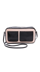 Lauren Merkin Handbags Bailey Cross Body Bag Black Nude