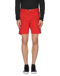 Primo Emporio Trousers Bermuda Shorts Men Red