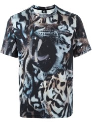 Paul Smith Ps By Animal Print T Shirt Multicolour