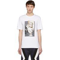 Neil Barrett White 'Iclaudius' T Shirt