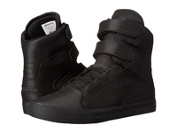 Supra Society Ii Black Satin Tuf Men's Skate Shoes