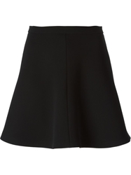Red Valentino A Line Short Skirt Black