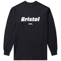 Fc Real Bristol F.C. Long Sleeve Authentic Tee Black