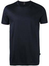 Hugo Boss Plain T Shirt Blue