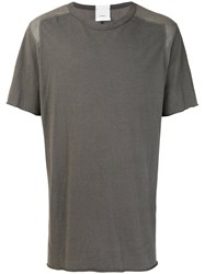 Lost And Found Rooms Classic T Shirt Cotton Linen Flax Grey