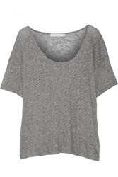 Kain Label Sunny Marled Stretch Jersey T Shirt Gray