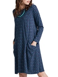 Seasalt Mill Pool Dress Twinflower Night