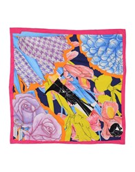 Christian Dior Dior Square Scarves Yellow