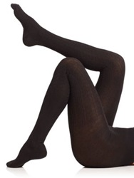Falke Striggings Cable Tights Black