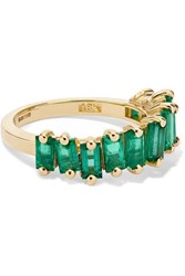 Suzanne Kalan 18 Karat Gold Emerald Ring 6