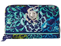 Vera Bradley Turn Lock Wallet Katalina Blues Wallet Handbags