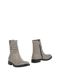 Boemos Ankle Boots Light Grey