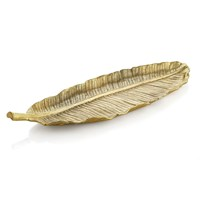 Michael Aram New Leaves Banana Leaf Large Platter