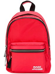 Marc Jacobs Trek Pack Medium Backpack Red