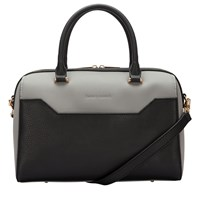 Smith And Canova Polly Twin Strap Bowling Bag Black Grey Black And Grey